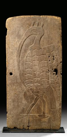Africa | Door from the Senufo people of the Ivory Coast | Wood