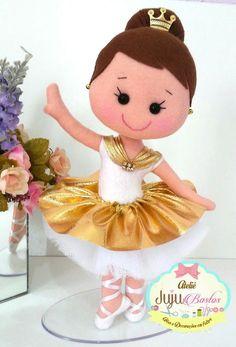 Felt Crafts, Diy And Crafts, Felt Banner, Panda Art, Sock Dolls, Ballerina Party, Felt Patterns, Baby Makes, Felt Toys
