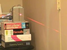 How to Make Your Own Laser Tripwire