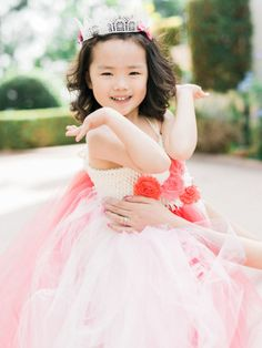 This sweet flower girl: http://www.stylemepretty.com/2015/02/11/romantic-pink-on-pink-california-wedding/ | Photography: Honey Honey - http://www.hoooney.com/