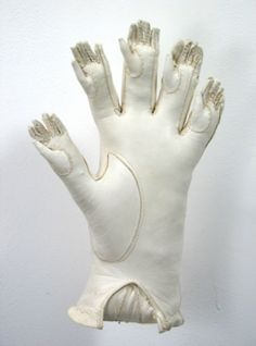 """Artist Claire Watson created a series of wonderfully bizarre artwork out of gloves. Take a look at the series, titled """"Kid Gloves,"""" on her website: Link - via Laughing Squid. Hand Art, Weird And Wonderful, Brainstorm, Soft Sculpture, Installation Art, Textile Art, Fiber Art, Art Inspo, Surrealism"""