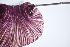 Lucia Lapone  textile designer: Arashi shibori Origami, Shibori, Japanese Art, Textile Design, Textiles, Prints, Color, Wrapping, Fabrics