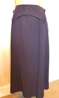 Victorian Walking Skirt Vintage 1910s Steampunk Over 100 Years Old