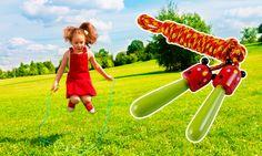 Distractiva, dar si eficienta in construirea rezistentei fizice, #coarda de sarit reprezinta un cadou promotional deosebit pentru copii. Design-ul simpatic cu #animale si culorile vii contribuie eficient la sporirea vizibilitatii #brand-ului. Poate fi oferit in campaniile de #promovare organizate pentru Ziua Copilului. #promotionale #personalizare #marketing #kids #1iunie #childrensday Marie, Outdoor Decor, Pools