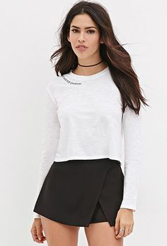 Not My Problem Tee | Forever 21 - 2000165446