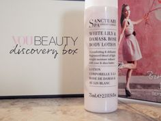 UNBOXING | YouBeauty Discovery Beauty Box SANCTUARY SPA WHITE LILY & DAMASK ROSE BODY LOTION (75ML)