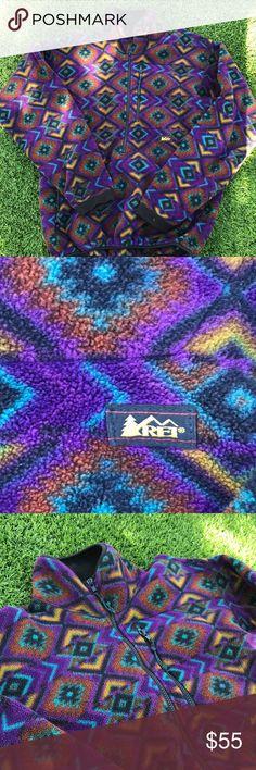 🚀 Vintage REI pullover jacket 🚀 🔆 in perfect condition vintage jacket 🔆size medium half zip 🔆no trades REI Jackets & Coats