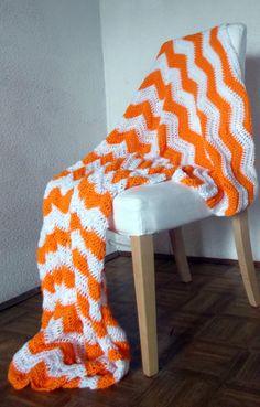 Chevron crochet blanket ... I need to make this one too
