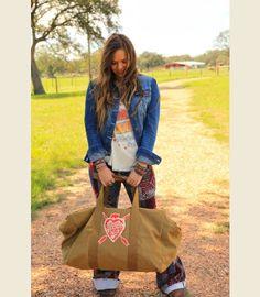 Restless ROAming Spirit oversized rucksack duffle - coyote brown