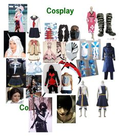 """""""Cosplay"""" by suzinjersey ❤ liked on Polyvore featuring Ciel and cosplay"""