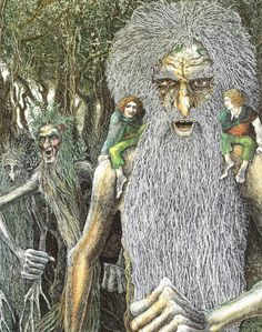 TREEBEARD AND THE ENTS BY TIMOTHY IDE