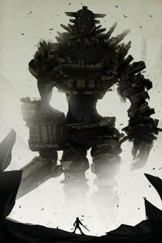 Shadow of the Colossus; few things are as satisfying as conquering a mountain of a foe.