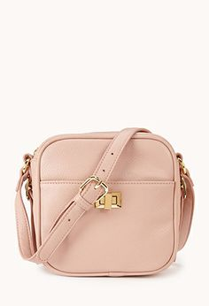 Classic Faux Leather Camera Bag | FOREVER21 - 1078954585