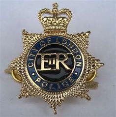 London police badge.