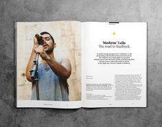 Magazine ayout