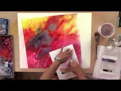 Learn some techniques for using watercolor and gouache on YUPO in this video preview from www.Artistsnetwork.tv.
