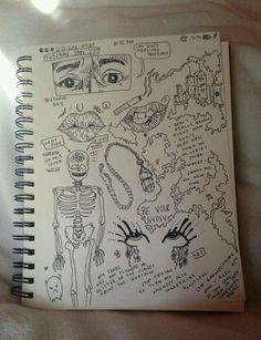 Tumblr grunge doodle