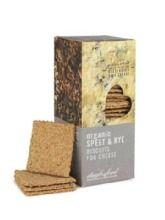 Daylesford Organic - Rosemary & Sea Salt Savoury Biscuits (120g). Savoury Biscuits, Rye, Daylesford, Packaging, Branding, Organic, Sea Salt, Foods, Design