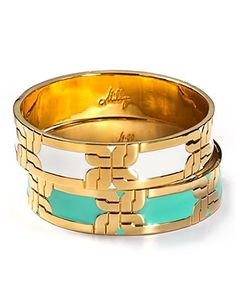 Milly Thin Enamel Bangle...can't get enough!