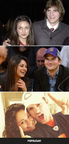 So cute! Look back at Ashton and Mila's love story
