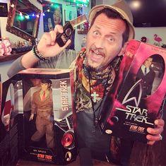 "eBay is calling... From the Episode ""A Piece of the Action"" 😳  #startrek #jameskirk #mrspock #classic #classicedition #limitededition #tvseries #serie #paramount #toys #ussenterprise #figures #ebay #chicago #playmatetoys #artstudio #artgallery #artist #artistlife #nerd #nerdstuff #geek #communicator #toycollector"