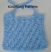 Baby Bib  - via @Craftsy #knitting