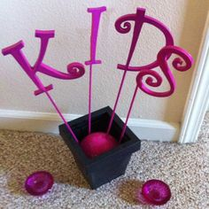 KIDS Table Wedding Decoration Centerpiece With Matching Candle Holders