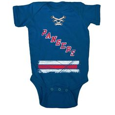 7720f45d2 Newborn   Infant New York Rangers Old Time Hockey Blue Beeler Bodysuit