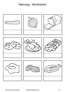 Bildkarten mit F im Anlaut - Dyslalie | Kindergarten ...