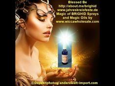 Brighids Magic Öle und Sprays Infos in Deutsch