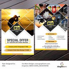 Flyer Designed For OSD