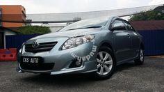 2008 Toyota Altis 1.6(A) VVT-I full TRD bodykit - Cars for sale in Kapar, Selangor