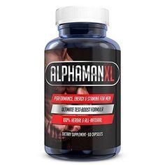 AlphaMAN XL Male Sexual Enhancement Pills | 2+ Inches in 60 days - Enlargement.. #AlphaMANXL