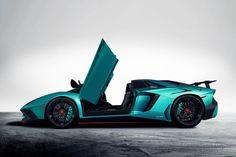 Un coup d'œil à la Lamborghini Aventador LP750-4 SuperVeloce Roadster