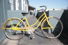 Beach Cruiser Classic by Ubuntu Bikes Hipster Chic, A Good Man, Dapper, Cool Stuff, Stuff To Buy, Bicycle, Guys, Yellow, Classic