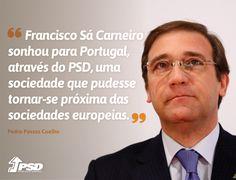 Pedro Passos Coelho na Sessão Evocativa em memória de Francisco Sá Carneiro na abertura da II Edição da Academia do Poder Local. #APL2015 #PSD #acimadetudoportugal