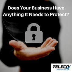A video surveillance system from Teleco Augusta can help you monitor company assets (equipment and employees), while access control systems helps you maintain exactly WHO has access to WHAT.