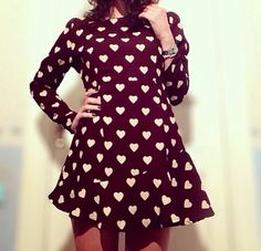 Dress with hearts❤️