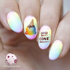It's a rainbow uni-cone! Anything with a single horn can be a magical unicorn... right?