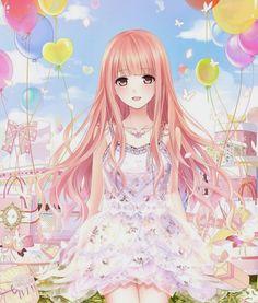Anime Kawaii Girl   #anime #animegirl #animekawaii #animecute #ezmkurd #art #girl #انمي_بنات #انمي_كيوت #كيوت #jbf