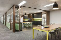 Australian real estate development firm Mirvac Group has recently moved into a new office space designed by Woods Bagot.