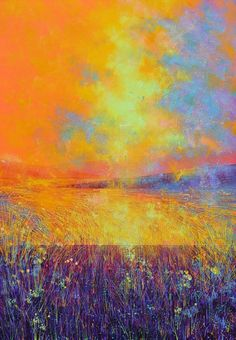 NOW SOLD. PAINTED.ORG.UK - Dramatic Sunset, 2014 Painting by Marc Todd, £525.00 (http://www.painted.org.uk/dramatic-sunset-2014-painting-by-marc-todd/)