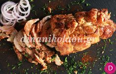Κοτόπουλο γύρος στο φούρνο Νο 2 | Dina Nikolaou Food N, Food And Drink, Greek Recipes, Chicken Recipes, Food Ideas, Sweet Home, Turkey, Cooking Recipes, House Beautiful