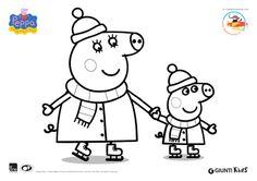 117 fantastiche immagini su giocherella la coccinella for Peppa pig disegni da colorare