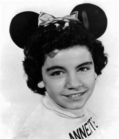 *ANNETTE FUNICELLO ~ as a 'Mouseketeer', 1955. R.I.P.