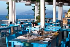 if you've fought the crowds to see the blue grotto, your reward is lunch here, a michelin-starred restaurant and beach club that serves lunch and dinner. the fish is the thing to get, and save room for dessert. you could easily spend a day here. plan accordingly.