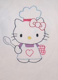 hello kitty chef apron - NEEDLEWORK