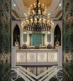 ''Jumeirah Zabeel Saray'' by Arketipo Design #Interior #Spa #Entrance #Oriental