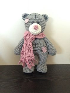 Crochet tatty teddy (me to you) baby girl edition