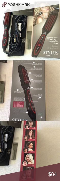 FHI Heat Thermal Styling Brush NWT Brand new in box FHI Heat Stylus. volume and defined waves for a sophisticated style. 5 temp settings from 250 to 400. Volume, lift, wave, curl, flip, touch-up, smooth, de-frizz, bend, style, re-style, control FHI Heat Other
